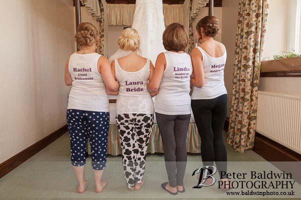 bride, bridesmaid, pre-wedding, monk fryston